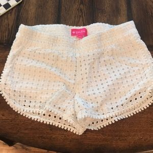 Lily for Target cute white shorts